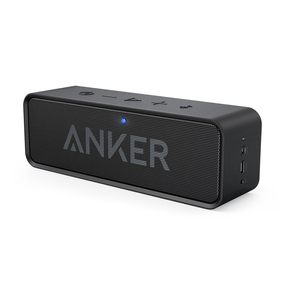 Image of   Anker SoundCore Bluetooth Stereo Speaker, Sort
